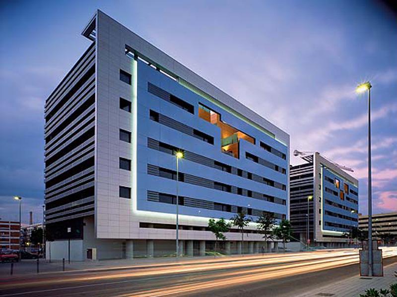 Edificios residenciales nazca i y nazca ii cat logo for Edificios modernos minimalistas