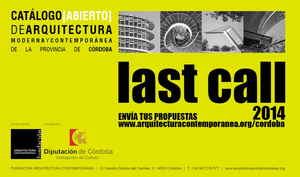 last call_catálogo 2014