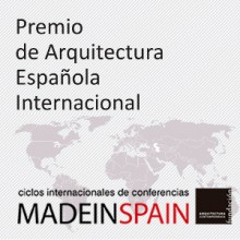 MADEINSPAIN obtiene el Premio de Arquitectura Española Internacional